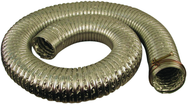 "8', 4"" Diameter Heat Resistant Hose (130 Degrees)"
