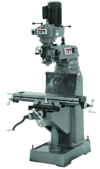 JVM-836-3 Mill With 3-Axis ACU-RITE 200S DRO (Knee) With X and Y-Axis Powerfeeds