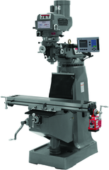 JTM-4VS Mill With ACU-RITE 200S DRO With X-Axis Powerfeed