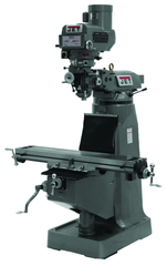 JTM-1050 Mill With ACU-RITE 200S DRO With X, Y and Z-Axis Powerfeeds and Power Draw Bar