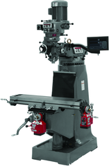 JTM-1 Mill With 3-Axis Newall DP700 DRO (Knee)