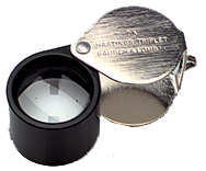 #816175 - 14X Power - 12.5mm Round - Hastings Triplet Folding Magnifier