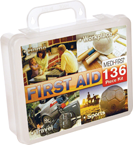 136 Pc. Multi-Purpose First Aid Kit