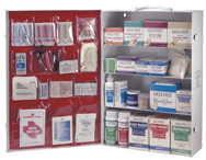 First Aid Kit - 4-Shelf Industrial Cabinet