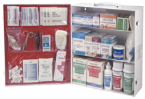 First Aid Kit - 3-Shelf Industrial Cabinet