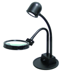 Portable LED Inspection Lamp with 3 Diopter Magnifier Lens