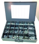 710 Pc. Cap Screw Assortment - Grade 5 Fine
