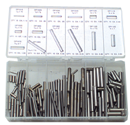 Dowel Pin Assortment - SS - 1/16 thru 1/4 Dia