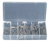 Dowel Pin Assortment - Alloy Steel - 1/16 thru 1/4 Dia