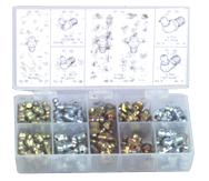 385 Pc. Grease Fitting Assortment