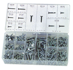 Self Tapping Screw Assortment - 6 thru 14 Dia