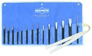 14 Piece Punch & Chisel Set -- #14RC; 1/8 to 3/16 Punches; 7/16 to 7/8 Chisels