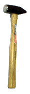 Vaughan Engineers Hammer -- 3 lb; Hickory Handle