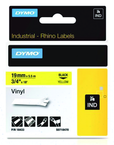 Rhino Label Roll -- 3/4'' x 18' Yellow Vinyl