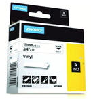 Rhino Label Roll -- 3/4'' x 18' White Vinyl
