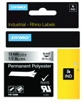 Rhino Label Roll -- 1/2'' x 18' Metallized Polyester
