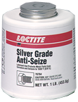 Silver Grade Anti-Seize Brush Can - 1 lb