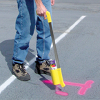 Marking Stick-Paint Delivery Handle