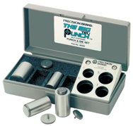 Big Tru-Punch Punch & Die Set - #40200; 1-1/4'' Maximum OD; .010'' Maximum Material Thickness