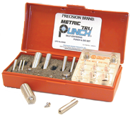 Metric 10 Tru-Punch Punch & Die Set - #40300; 20mm Maximum OD; .25mm Maximum Material Thickness