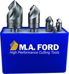 90 Degree 3 Flute Aircraft Countersink Set