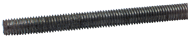 Threaded Rod - 1-1/8-12; 3 Feet Long; Steel-Oil Plain