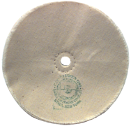 6 x 1/2 - 1'' (80 Ply) - Cotton Loose Type Buffing Wheel