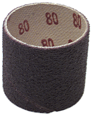 1-1/4 x 2'' - 50 Grit - A/O Resin Bond Abrasive Band