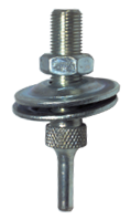 "Unitized Wheel Mandrel for use with 6"" Diameter Wheels"
