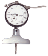 0 - 200mm Measuring Range (.01mm Grad.) - Dial Depth Gage