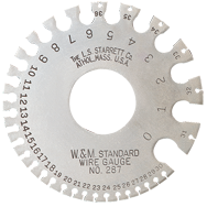 #287 - American Standard: 0 to 36 Gauge - Wire Gage