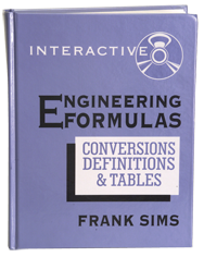 Engineering Formulas Interactive CD-ROM - Reference Book