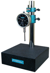"Kit Contains: Granite Base & 1"" Travel Indicator; .001"" Graduation; 0-100 Reading - Granite Stand with Dial Indicator"
