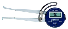"#54-554-730 - .5-6"" / 150mm Range - .01"" / .1mm / 1/64th Reading - Electronic Internal Caliper Gage"