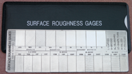 #RG1 - 22 Specimans for Checking Varied Roughness Results - Microfinish Surface Comparator