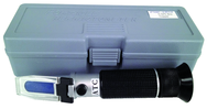 Refractometer with carring case 0-32 Brix Scale; includes case & sampler