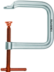 "0 to 3"" Capacity - Extra DeepæThroat C-Clamp 9/16"