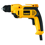 #DWD112 - 7.0 No Load Amps - 0 - 2500 RPM - 3/8'' Keyless Chuck - Corded Reversing Drill