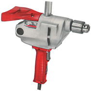 #1610-1 - 7.0 No Load Amps - 650 RPM - 1/2'' Keyed Chuck - D-Handle Reversing Drill
