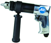 #7550 - 1/2'' Chuck Size - Non-Reversing - Air Powered Drill