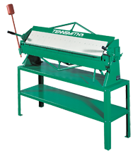 Box & Pan Hand Brake  - #HBU48-16 - 48-1/4'' Working Length - 16 Gauge Capacity (Mild Steel) Stand Included ( 48S)