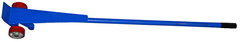 "7' Steel Handle Prylever Bar - Usable nose plate 6""W x 3""L - Powder coat blue finish - Capacity 5,000 lbs"