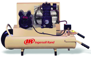 8 Gallon / Horizontal Tank; 5-1/2HP Gas Engine Air Compressor #SS3J5 5GH-WB