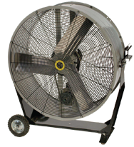 "36"" Portable Tilting Mancooler Fan 1/2 HP"