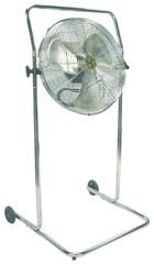 "18"" High Stand Commercial Pivot Fan"