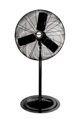 "24"" Pedestal Fan; 3-speed; 1/4 HP; 120V"