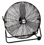 "24"" Industrial Grade Floor Fans; 3-speed; 1/4 HP; 120V"