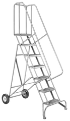 Model 6500; 7 Steps; 30 x 58'' Base Size - Roll-N-Fold Ladder