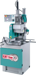 "14"" CNC automatic saw fully programmable; 4"" round capacity; 4 x 7"" rectangle capacity; ferrous cutting variable speed 13-89 rpm; 4HP 3PH 230/460V; 1900lbs"