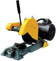 "Abrasive Cut-Off Saw - #K7B; Takes 7"" x 1/2"" Hole Wheel (Not Included); 1HP; 1PH; 110/220V Motor"